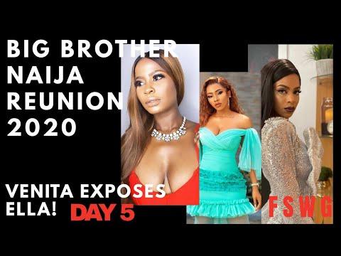 BBNaija Reunion 2020 – DAY 5 | HOUSEMATES DRAG ELLA FOR TAKING THEIR MONEY