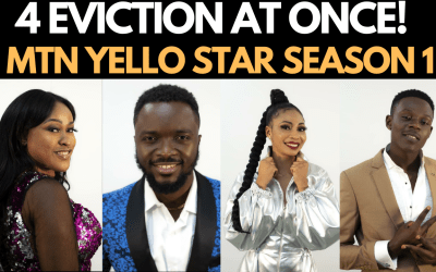 MTN YELLO STAR SEASON 1 IST EVICTION SHOW | RAEL, UZEZI, DAVE WILLZ, MELODY EVICTED