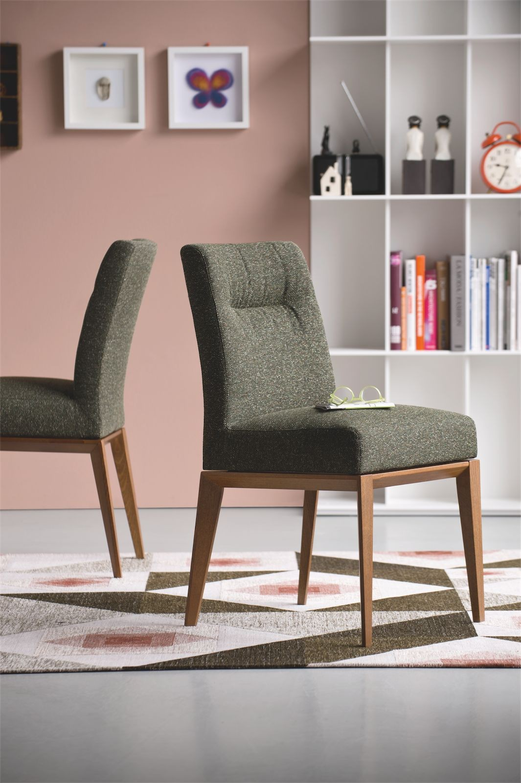 Calligaris Chairs Calligaris Tosca Fabric Dining Chair Frank Mc Gowan
