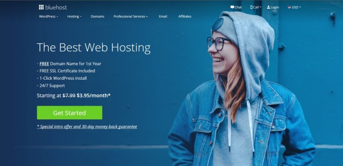 Use Bluehost to monetize with Google AdSense