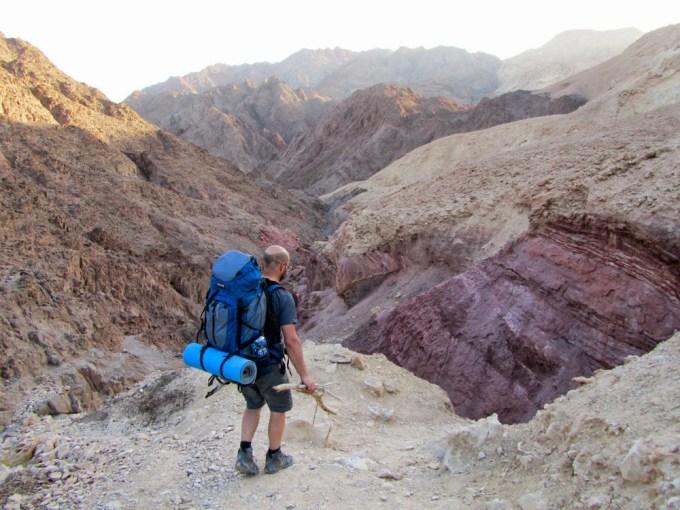 frankpeti az eilati sivatag hegyeiben (fotó: Gabi Berger)