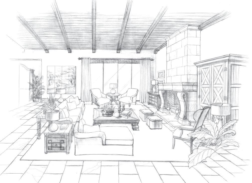 Drawings  Frank Pitman Designs