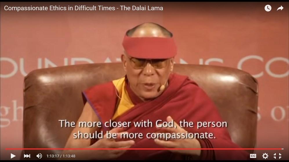 dalai on stage