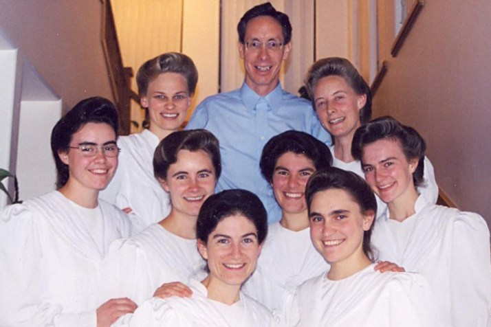 warren jeffs with wives
