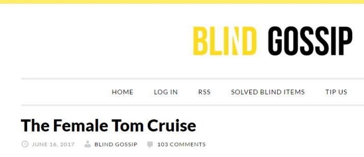blind g