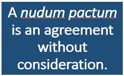 Nudum-Pactum