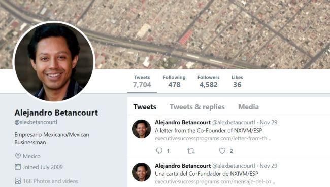 Alex Betancourt tweets his Vanguard plus photos of Vanguard s