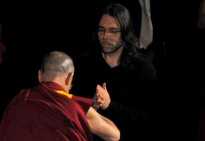 Exclusive Photos: Dalai Lama's Emissary Lama Tenzin on 'Nxivm' Island With Allison Mack Dalia-lama-and-raniere