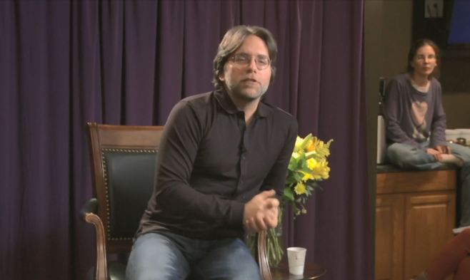 Nxivm Keith Raniere with Flowers