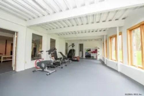 Sara Bronfman home gym