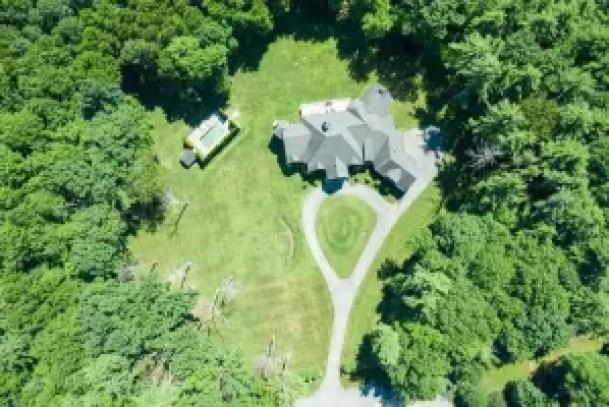 Aerial View of Sara Bronfman Estate