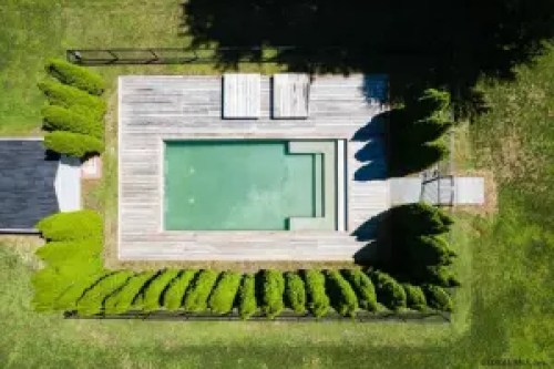 Sara Bronfman Clifton Park House Inground Pool