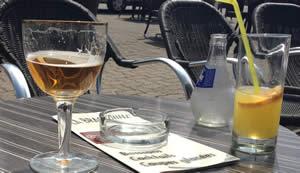 drankje in de Gironde