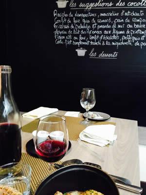 Eten bij Les Cocottes