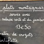 Herinneringen aan de Haute Savoie en Tartiflette.