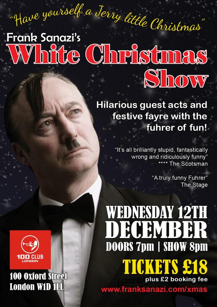 Frank Sanazi White Christmas Show London 2018