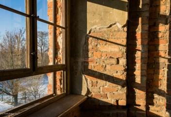 Detail in der Schlossruine