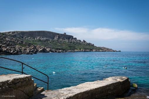 Dahlet Qorrot Bay, im Hintergrund der Sopu Tower