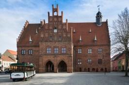 Das Rathaus in Jüterbog