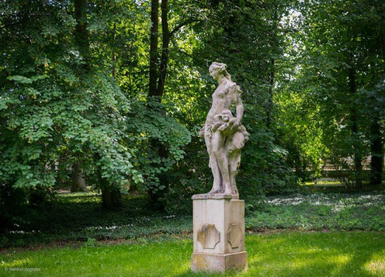 Park von Schloss Blankensee Pomona