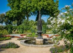 Park Babelsberg Gotische Fontäne