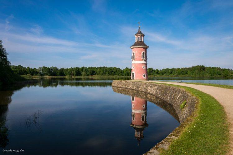 Schloss Moritzburg Leuchtturm