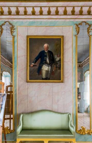 Friedrich Wilhelm I. im Rittersaal