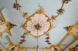 Die Decke im Muschelsaal