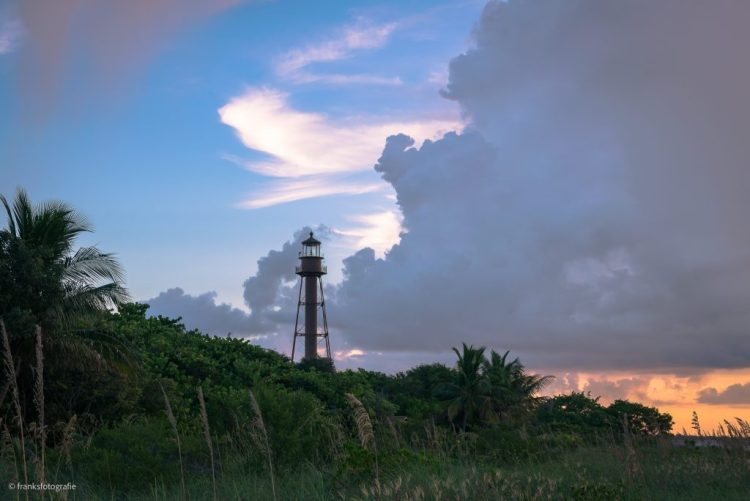 Sonnenaufgang in Florida Sanibel Lighthouse Point