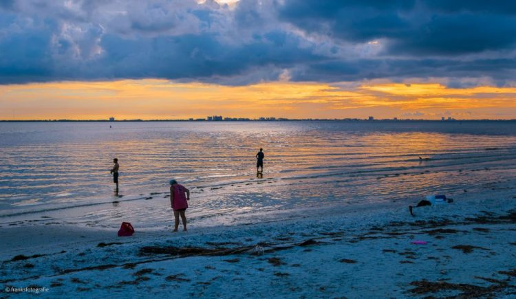Sonnenaufgang in Florida Sanibel Island