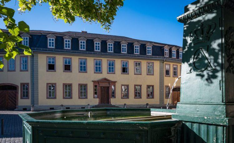 Weimar erkunden Goethes Wohnhaus Frauenplan
