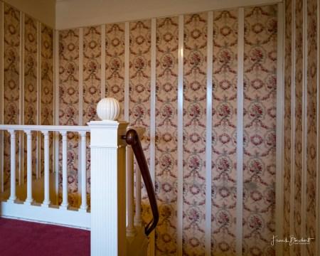 Die Treppe führt in die Kajüte im Untergeschoss