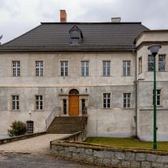 Schloss Buchwald. Heute ist hier ein Kindergarten untergebracht