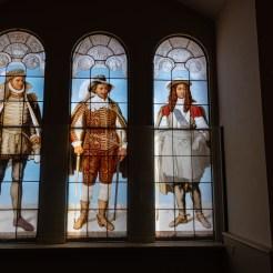 Fenster im Saal der Waffensammlung