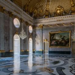 Der Marmorsaal ist ebenfalls Bestandteil des Rundgangs durch die privaten Kaisergemächer