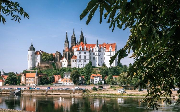 Schlössertour an der Elbe