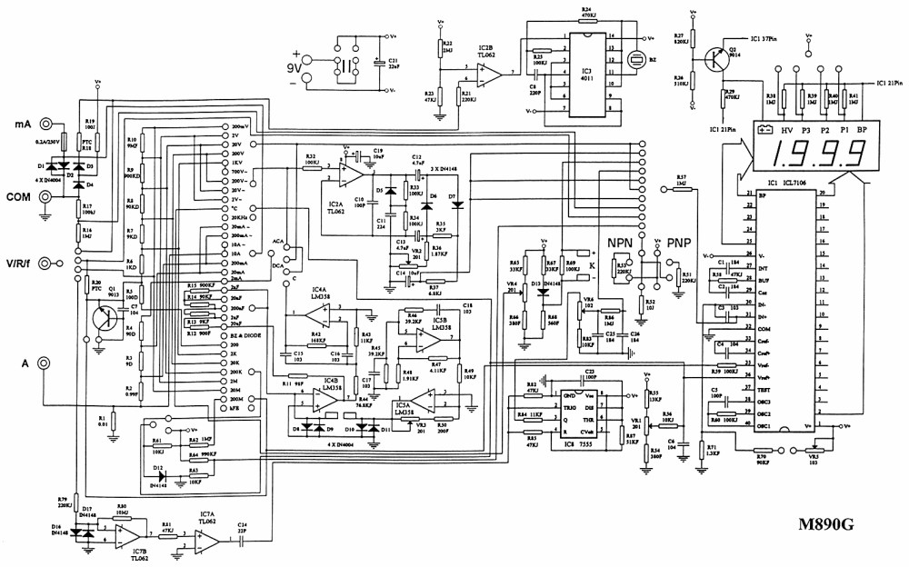 medium resolution of fluke 175 177 179 multimeter frank s workshop equipment fluke 175 177 179 multimeter x ray machine block diagram