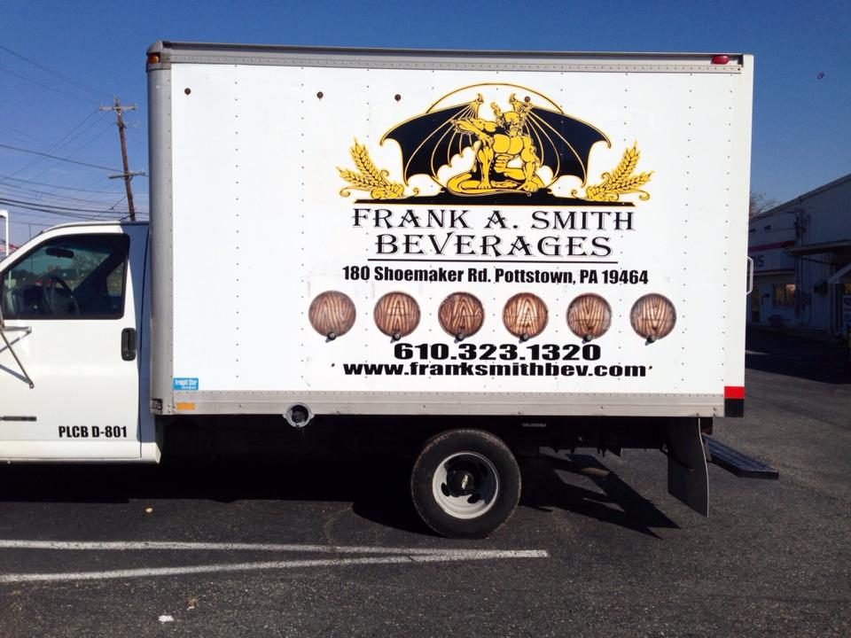 Beer Truck Frank A Smith Beverages Beer Cigars And Service
