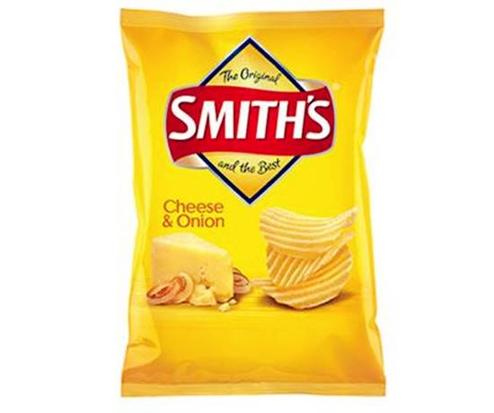 Smith Cheese & Onion Chips 45g