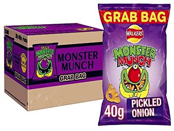 Walkers Monster Munch Pickled Onion 40g