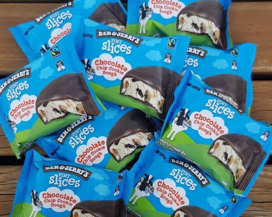 Ben & Jerrys Pint Slices Chocolate Chip Cookie Dough