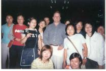 Students & in English Corner meeting on Campus SDIBT Yantai.
