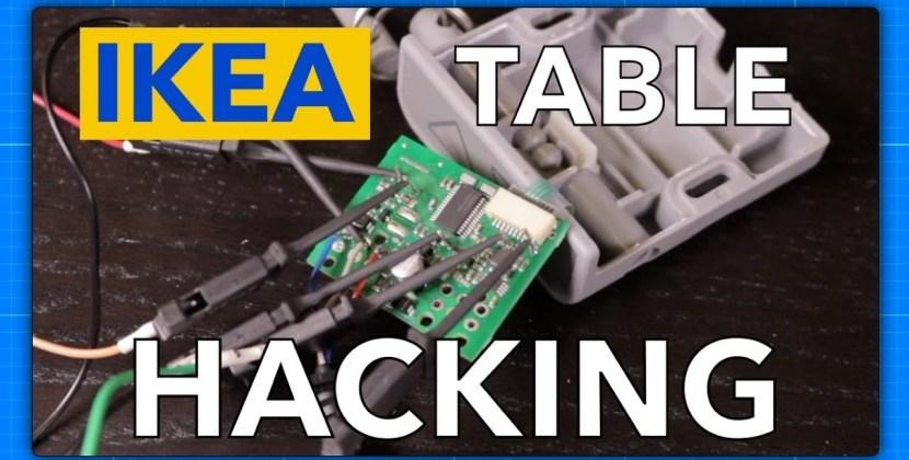 IKEA Bekant Table Hacking