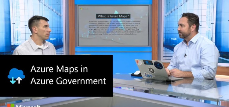 Azure Maps in Azure Government