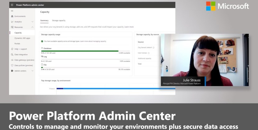 Power Platform Admin Center