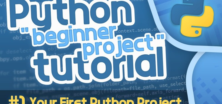 Python Beginner Project Tutorial