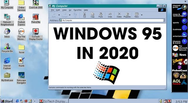 Windows 95 25 Years Later