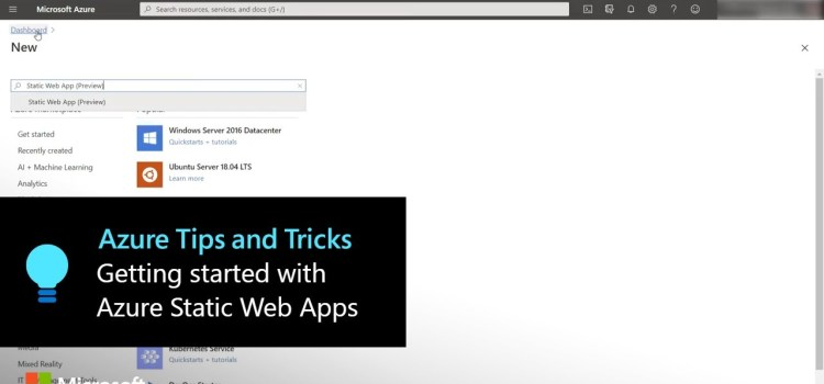 Getting Started with Azure Static Web Apps