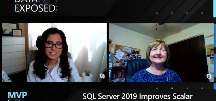 SQL Server 2019 Improves Scalar UDF Performance