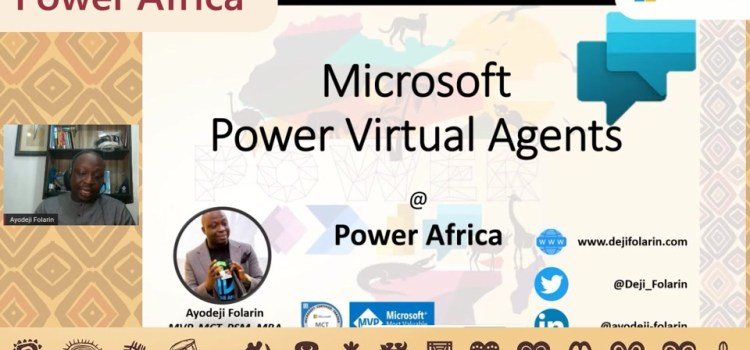 Getting Started with Power Virtual Agents
